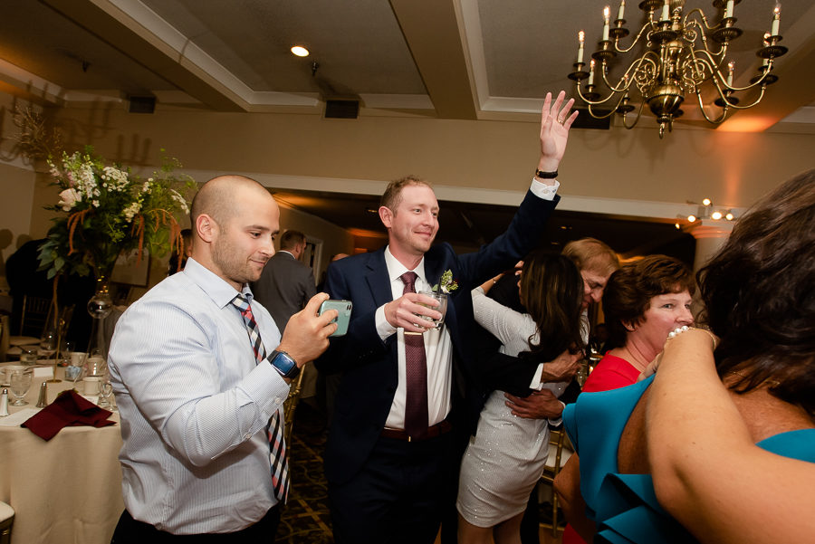 Groom Dancing at Shannopin Country Club