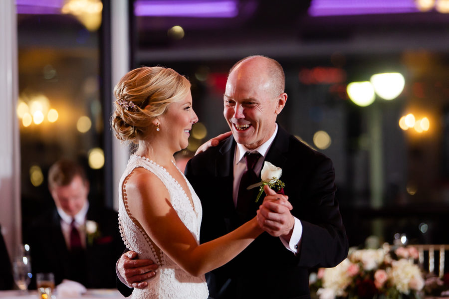 Father Daughter Dance at Renaissance Pittsburgh Hotel Wedding