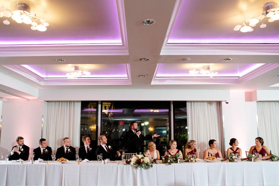 Speeches at Renaissance Pittsburgh Wedding